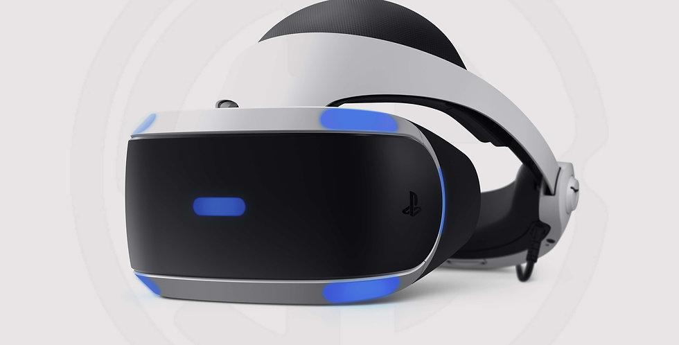 Sony PlayStation VR headset - black / white