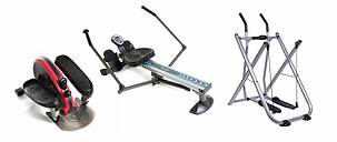 Rowing Machine, Stepper, Gazelle