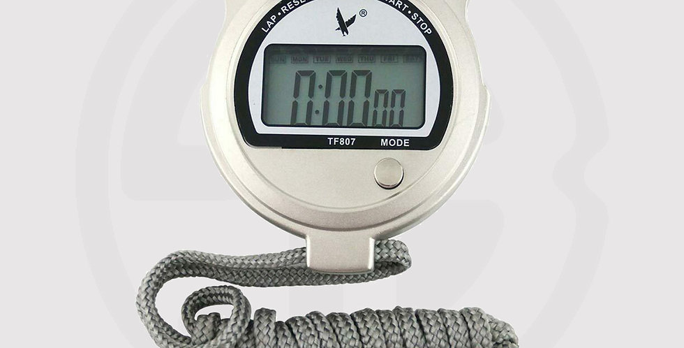 Stunning Metal Case Stopwatch Sports Timer, Chronograph