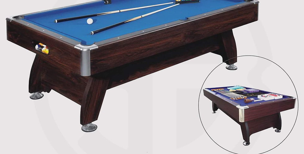 Pool Table Strikeworth Pro-American Deluxe 7ft - Blue Clothes