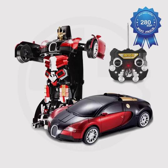 Lamborghini Car Transforming Robot
