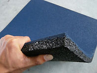 Rubber Floor Tiles, Strong Materials