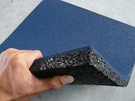 Rubber Floor Tiles, Strong Materials
