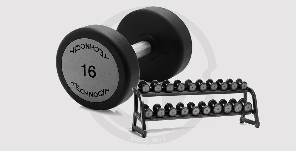 Technogym Dumbbell Set 10 Pairs - 130,000 EGP