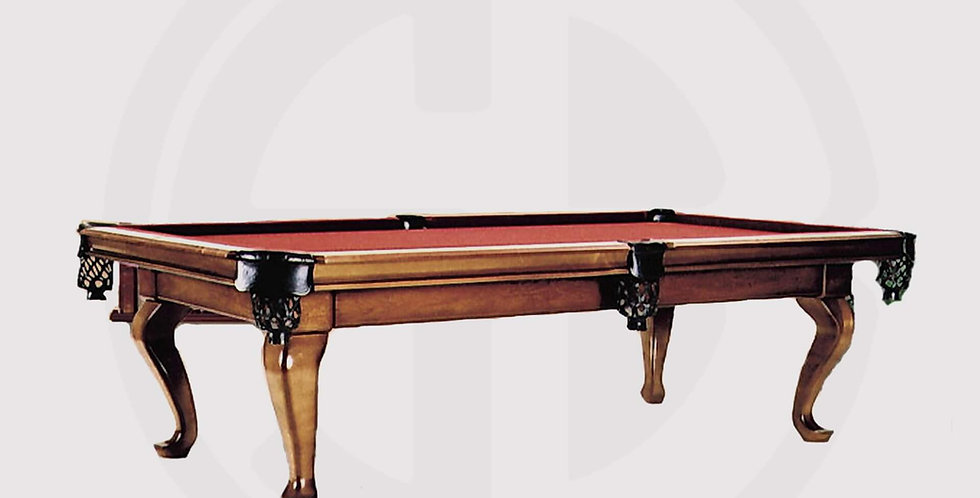 Queen Pool Table 8ft made of walnut woods, Egyptian industry