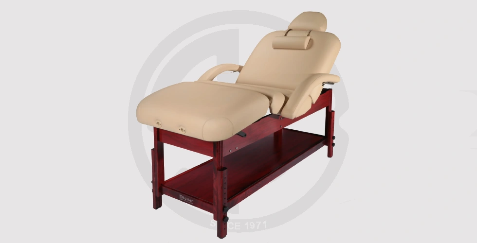 Stationary Massage Table, Facial Bed Beauty Bed - 26,500 EGP