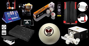 Table Tennis Equipment & Accessories