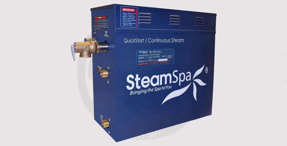 12KW SteamSpa S-1200 Steam Generator - 39,900 EGP
