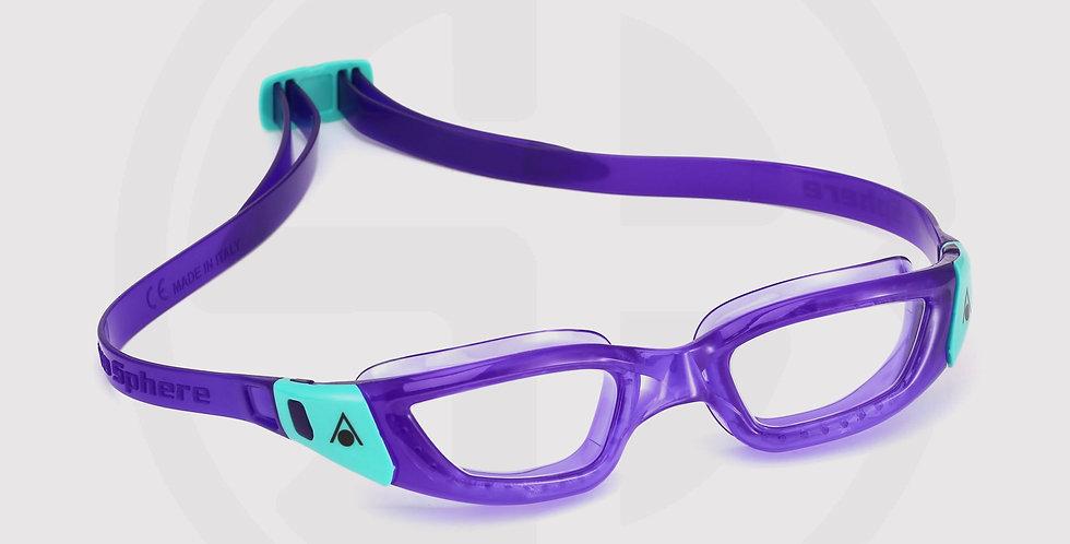 Aqua Sphere® Kameleon Women Fitting Swim Goggles - Clear Lens / Violet & Green