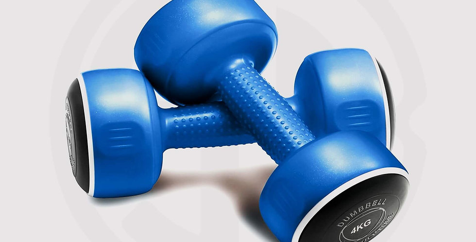SMART Dumbbell Body Sculpture for sold in pairs sets (2-10KG) - Blue
