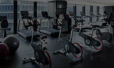 Cardio Gym Fitness, Treadmills, Bikes