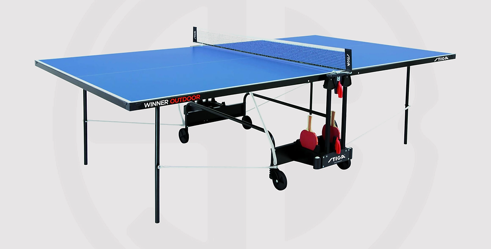 Stiga Winner Table Tennis Table Outdoor – Blue