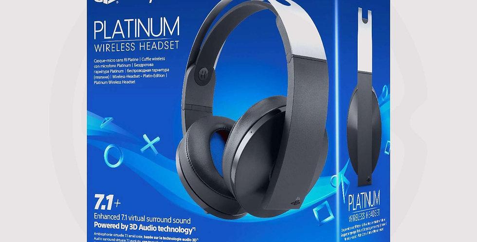 Sony PS4 platinum wireless headset, box
