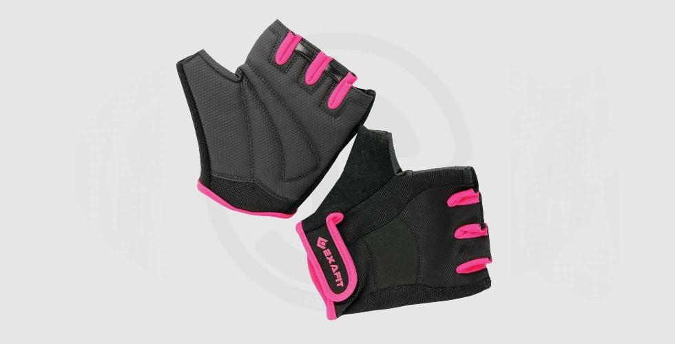 Fitness Women's Exercises Gloves - 90 EGP