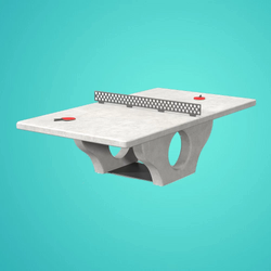 Concrete Ping Pong Tables - Concrete and Steel
