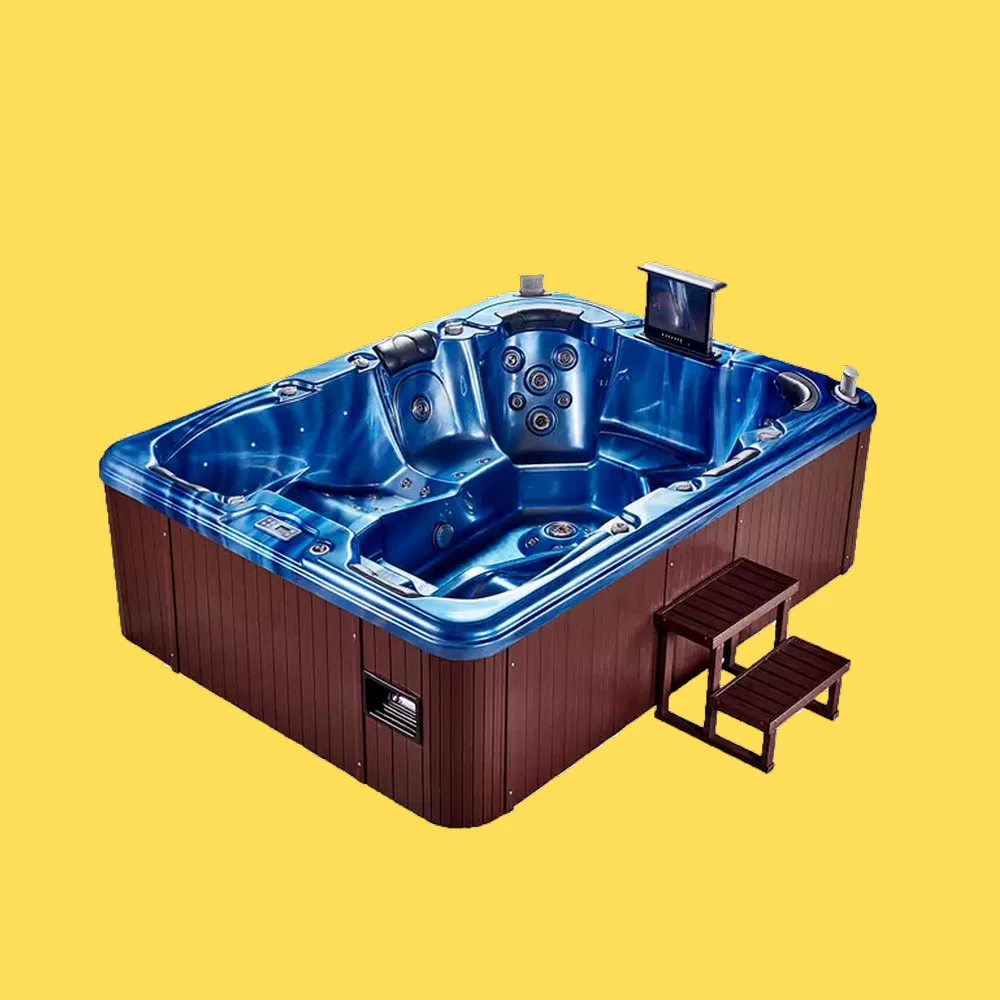 Luxury 8 Person Hot Tubs Outdoor Spa/ Whirlpool