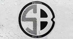 Blue Shell Logo, Raindrops