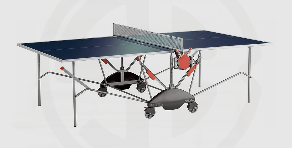 Kettler Table Tennis Table Riga Pro, Indoor 19mm - Made in Germany