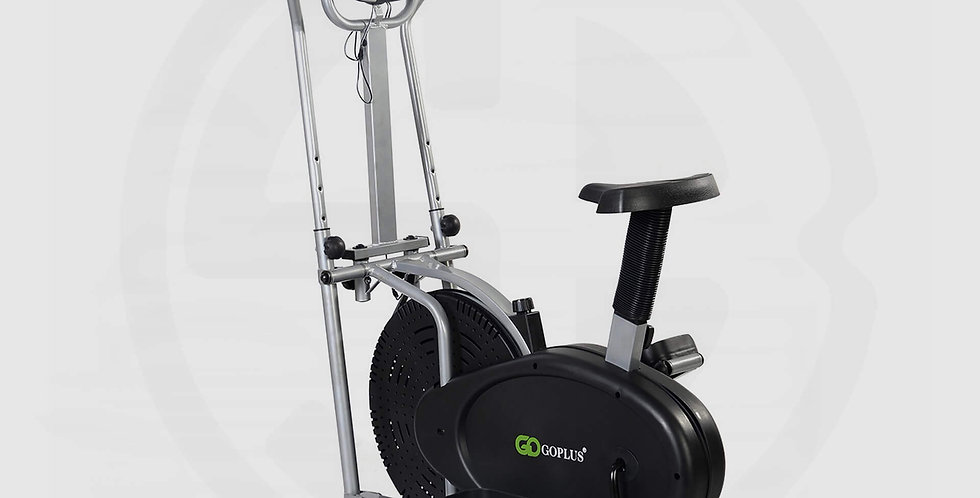 Orbitrack  4 Arms, 2 IN 1 Elliptical Bike Dual Cross Trainer Machine