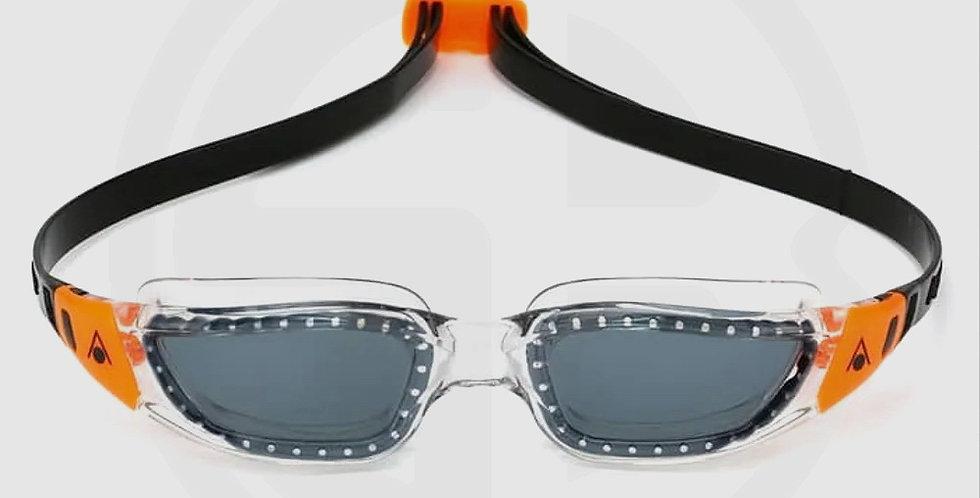 Aqua Sphere KAMELEON Lady's fitting Swim Goggles - Smoke lens / Black-Orange