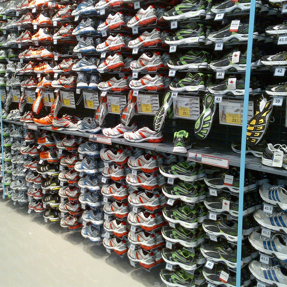 Athletic Shoes - Blue Shell stores