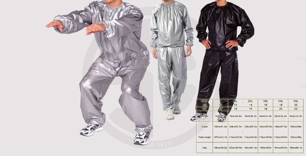 New Men Women Sweat Sauna Suit For Loss Weight - 290 EGP