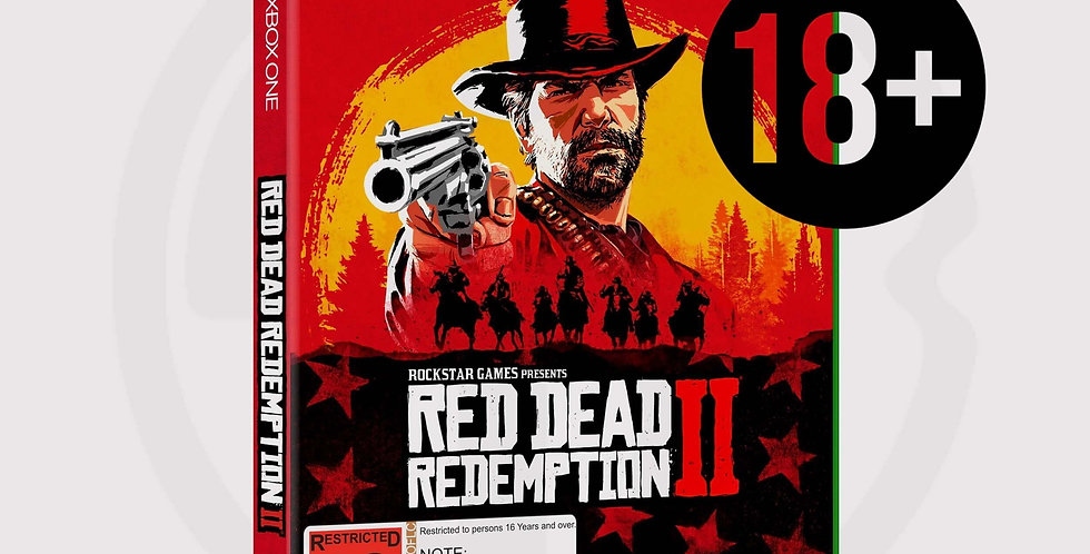 Red dead redemption 2 for Xbox One, disc only
