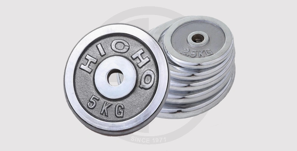Cast Iron Weight Plates - Sold by kilos For 24 EGP