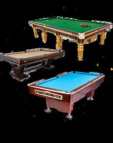 Billiard Tables, Accessories& Service