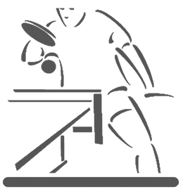 Table Tennis Tables, Clipart