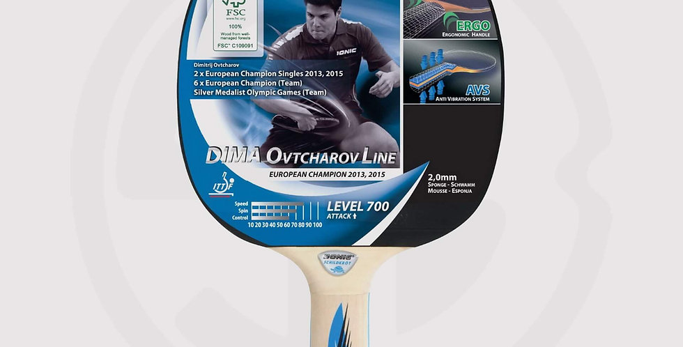 Donic level 700 table tennis racket