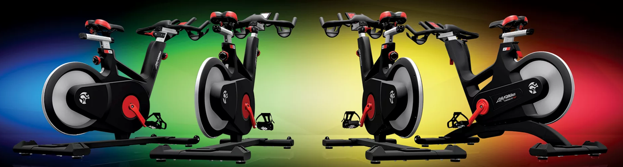 Spin Bikes -Life Fitness