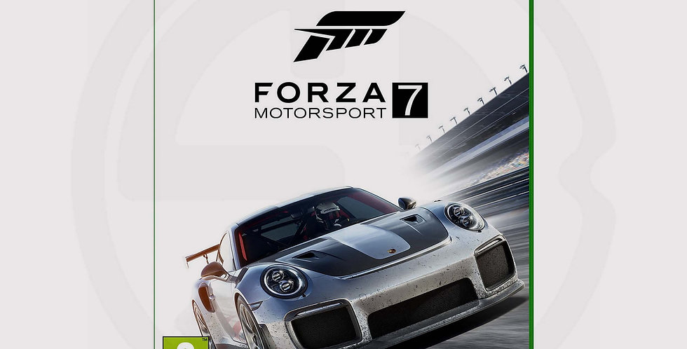 Forza Motorsport 7 standard edition, ps4 cames, cover