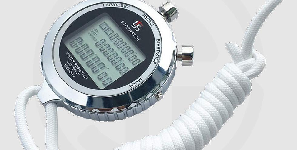YS Silent Stopwatch, Metal Digital Sports Stopwatch, Model 5100