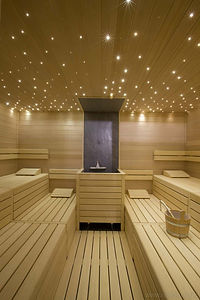 Sauna Stream Room