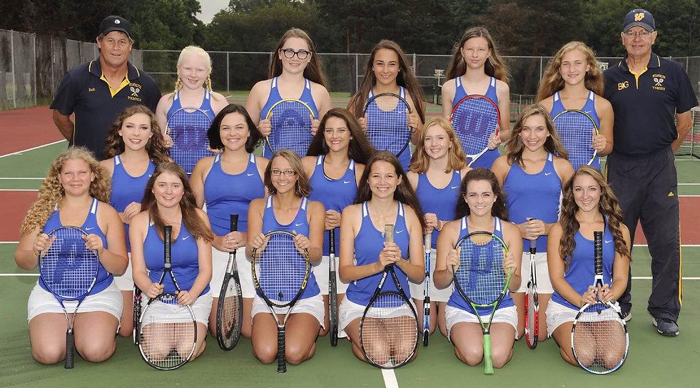 Tennis Team at the International School