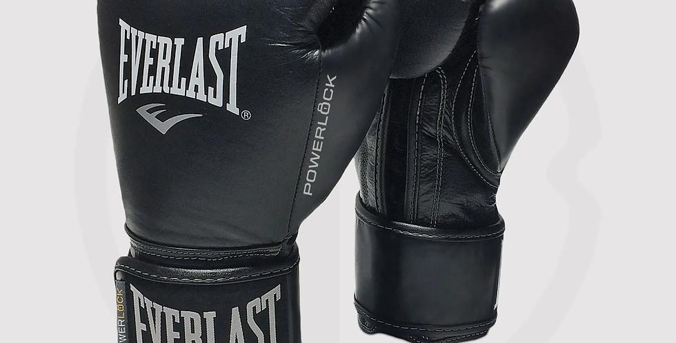 Everlast Powerlock Pro Training Gloves, Black/Black