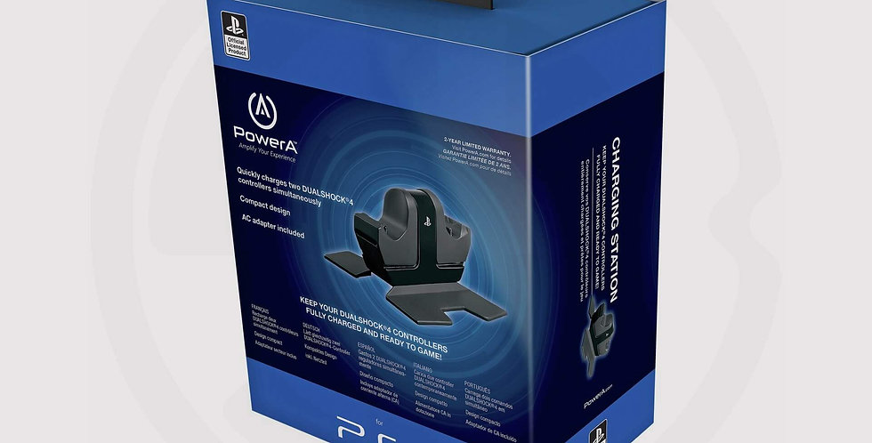 Sony original power a official dual charging station for PS4, box