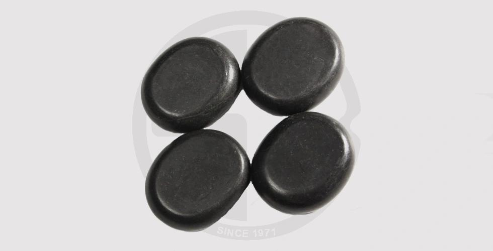4Pcs Natural Hot Stone Massage Basalt Rocks - 280 EGP