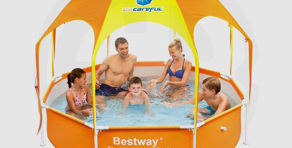 Bestway Splash-in-Shade Play Pool, Round Shape