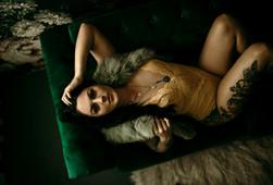 anchorage boudoir photographer Lavender Lace