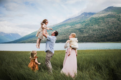 Eklutna Lake, Anchorage family photographer