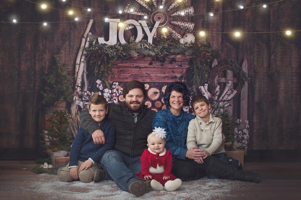 christmas mini portrait sessions anchorage alaska