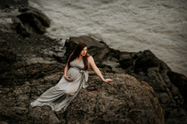 big lake alaska maternity photography