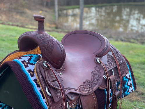 """New 15 3/4"""" Don Rich Ranch Cutter Saddle"""