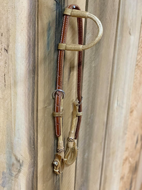 Leather and Rawhide Headstall