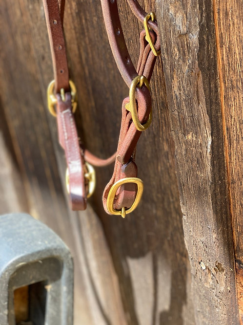 4 Buckle Browband Headstall