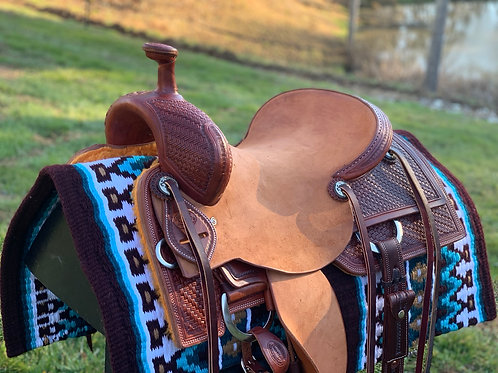 """New Don Rich 15.5"""" Ranch Cutter Saddle"""