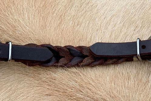 Leather Curb, Braided