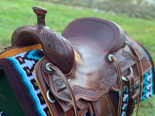 "New 15 1/4"" Don Rich Cowhorse Saddle"
